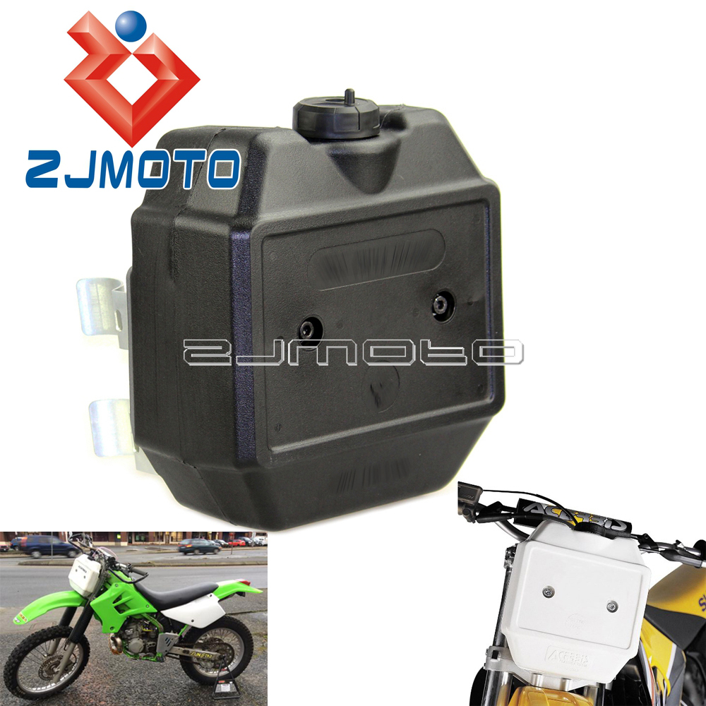 Motocross Enduro Front Auxiliary Fuel Tank 1 3 Gallon For