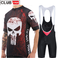 Clubvan 2018 Sportswear Cycling Jersey Set 100 Polyester MTB Bike Clothes Racing Bicycle Uniforms Maillot Ropa