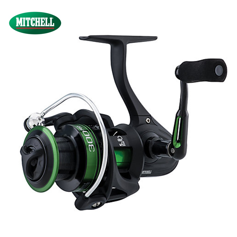 купить 100% Original Mitchell 300PRO Reel 500 2000 4000 Spinning Fishing Reel 10 BB 5.2:1/5.8:1  Anti-Reverse Fishing Gear недорого