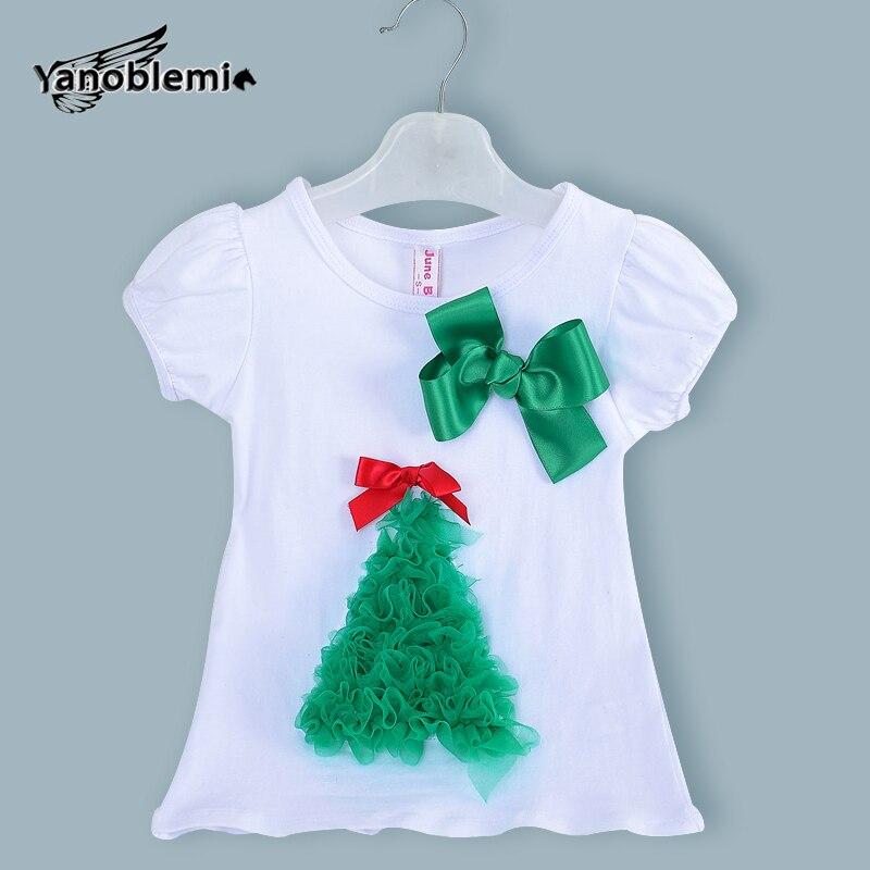 Neue Mode Baby Mädchen Marke t shirt Kinder Niedlichen Weihnachten ...