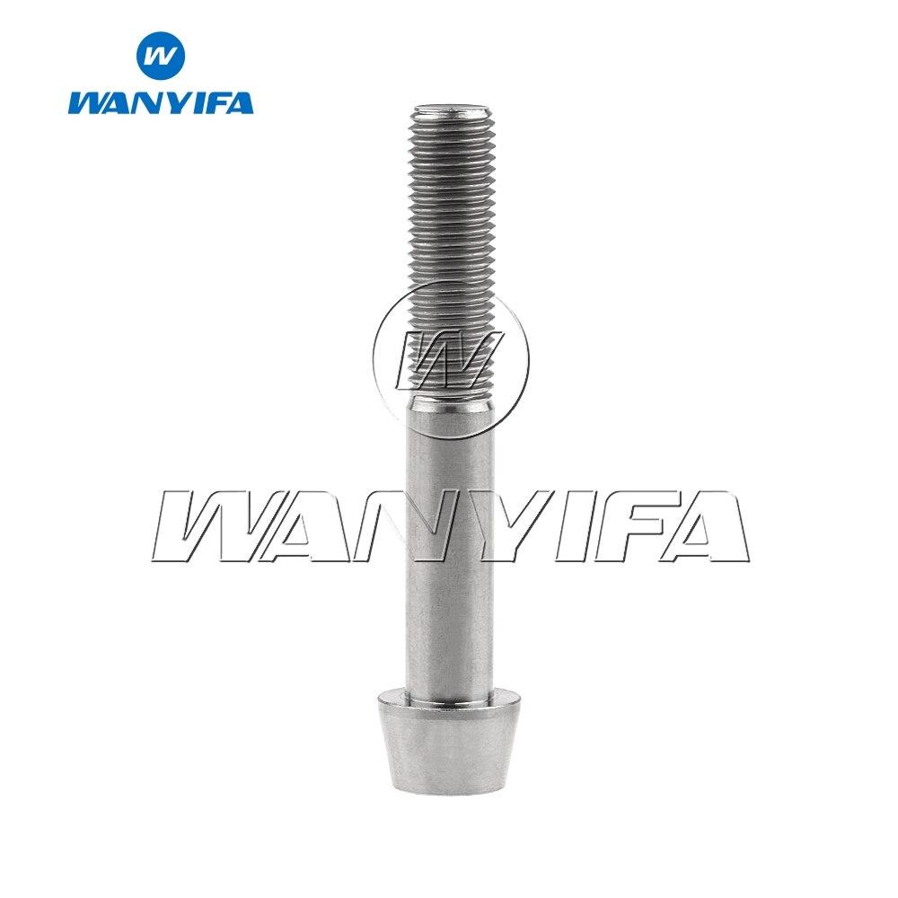 M10 x 70mm 1.5 Pitch Titanium Ti Bolt Taper Hex Allen Socket Head Screw GR5