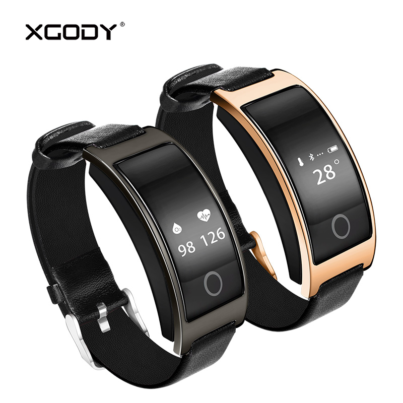 In Stock Origional CK11S Smart Bracelet Fitness Tracker Pedometer Blood Pressure Heart Rate Monitor XGODY CK11S Smart Band BT4.0