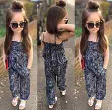 Overalls for girls Fashion Girls One-piece