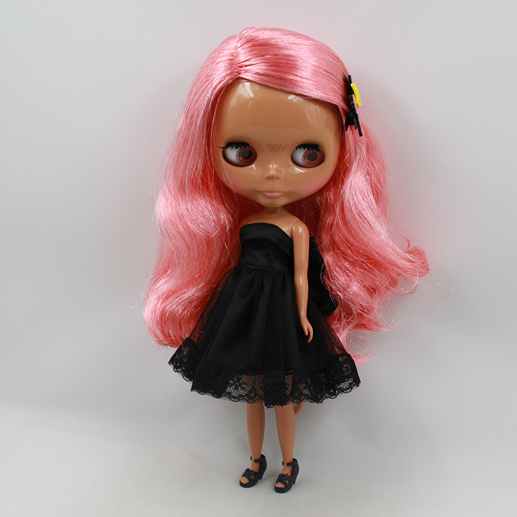 Doll Blyth boneca negra 30cm fashion doll baby dolls for girls bonecos colecionaveis Wholesale blyth dolls for sale bjd doll 1 6 boneca negra blyth doll with joint body bonecos colecionaveis blyth nude doll baby dolls for girls