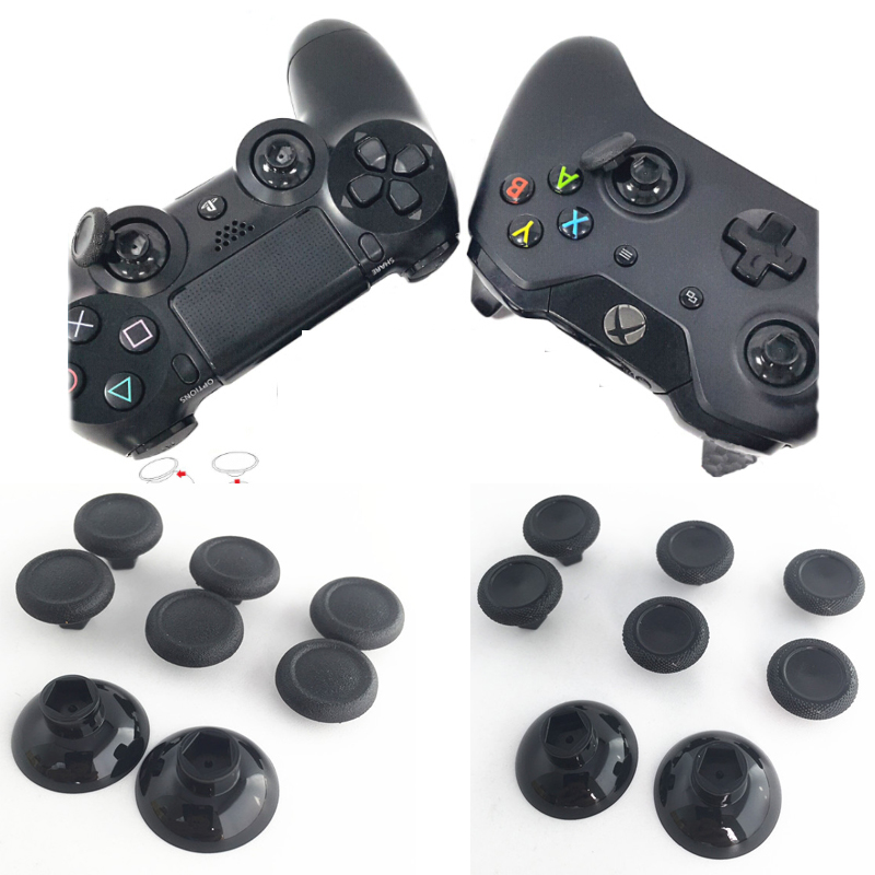 Enhanced Removable Thumbsticks Thumb Stick Joystick Caps Covers Custom Grips for PS4 SLIM PS4 Pro Xbox one Slim Elite Controller