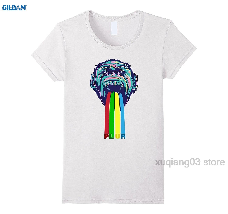 GILDAN Electronic Dance Monkey PLUR EDM Festival Tshirt