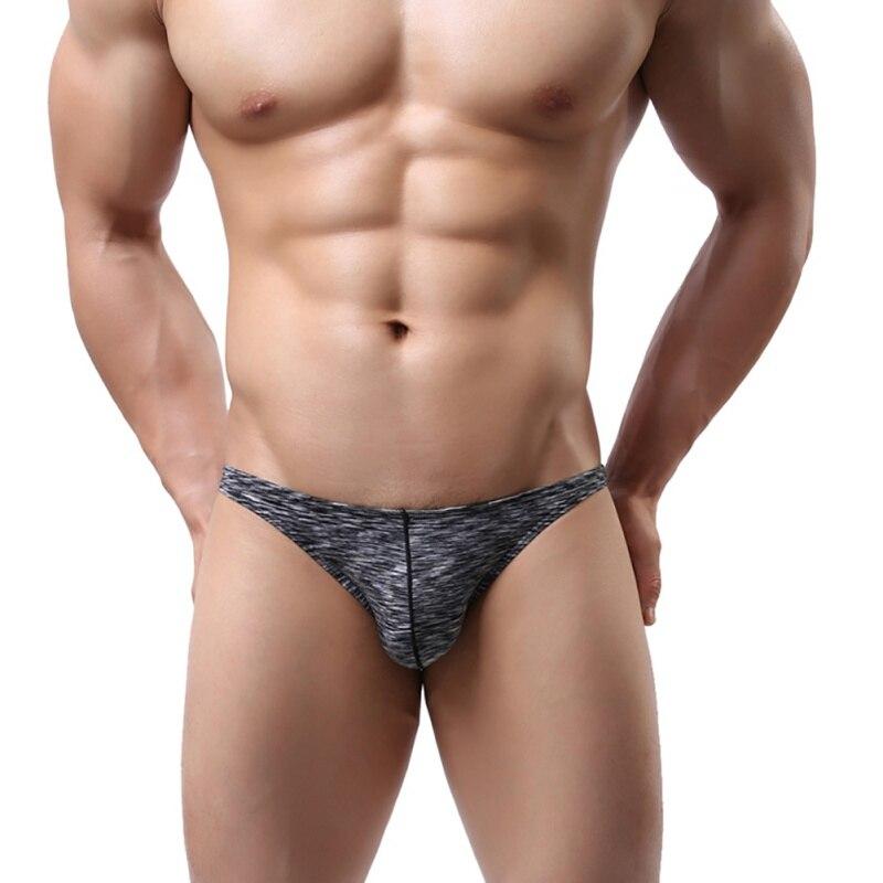 Sexy Adult Cotton Briefs Men's Underwear Briefs Solid Breathable Underwear Underpants Apparel M-2XL Hot Online