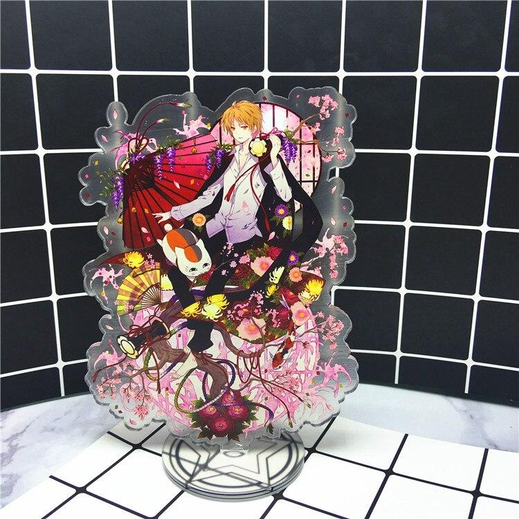 Anime Natsume Yuujinchou Acrylic Stand Model Toys Natsume Yuujinchou Action Figure Pendant toy 15cm double-side gift