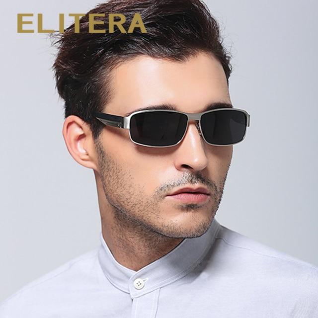 03d11e60ecb ELITERA Fashion Men s UV400 Polarized Sunglasses Men Driving Shield Eyewear  Sun Glasses Fishing Female Outdoor Sports for men