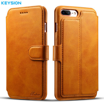 Leather Wallet Phone Case iPhone 8 Plus