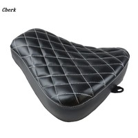 Motorcycle Black Front Driver Solo Seat Cushion for Harley Sportster Iron 883 883 48 XL1200X