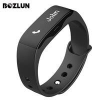Bozlun marca faixa de pulso inteligente relógios das mulheres dos homens de esportes de fitness moda display led de chamada lembrete data relógios de pulso digitais l28t