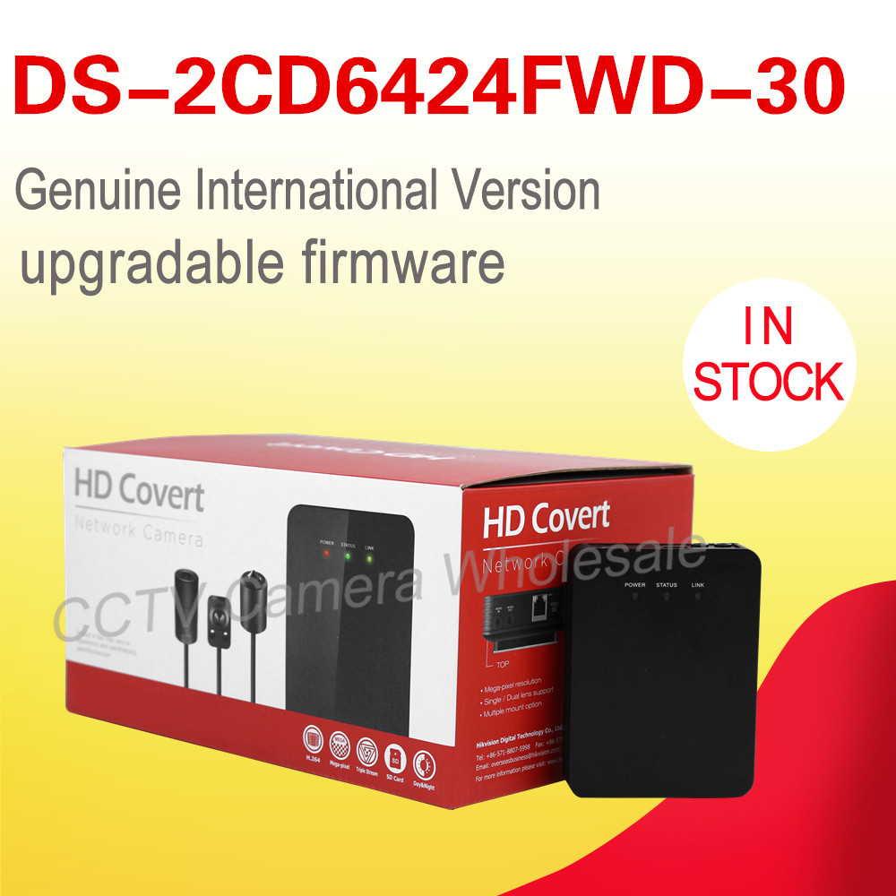 Free shipping International English version DS-2CD6424FWD-30 2MP WDR network cctv ip camera POE ROI codec dhl free shipping english version ds 7108ni e1 v w embedded mini wifi nvr poe 8ch for up to 6mp network ip camera