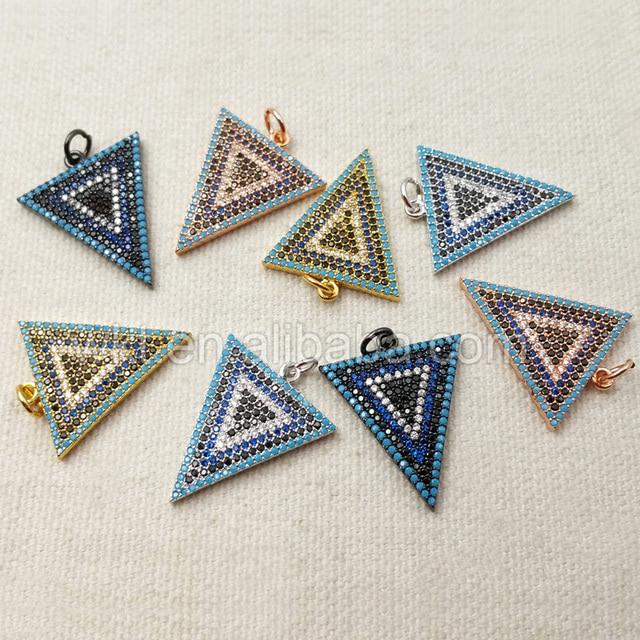 Wt p1072 wholesale high quality triangle micro mosaic pendant unique wt p1072 wholesale high quality triangle micro mosaic pendant unique design turkish style jewelry 20 aloadofball Choice Image