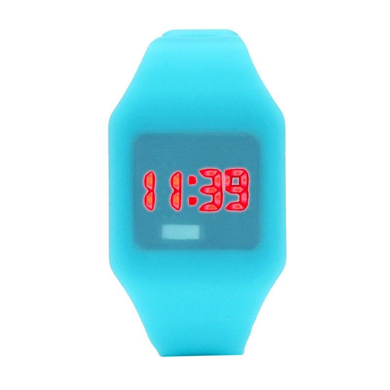 2018 Boys Girls Silicone <font><b>LED</b></font> Watch Sports Bracelet Digital Wrist Watch Gift relogio feminino masculino <font><b>Uhren</b></font> relojes D0323