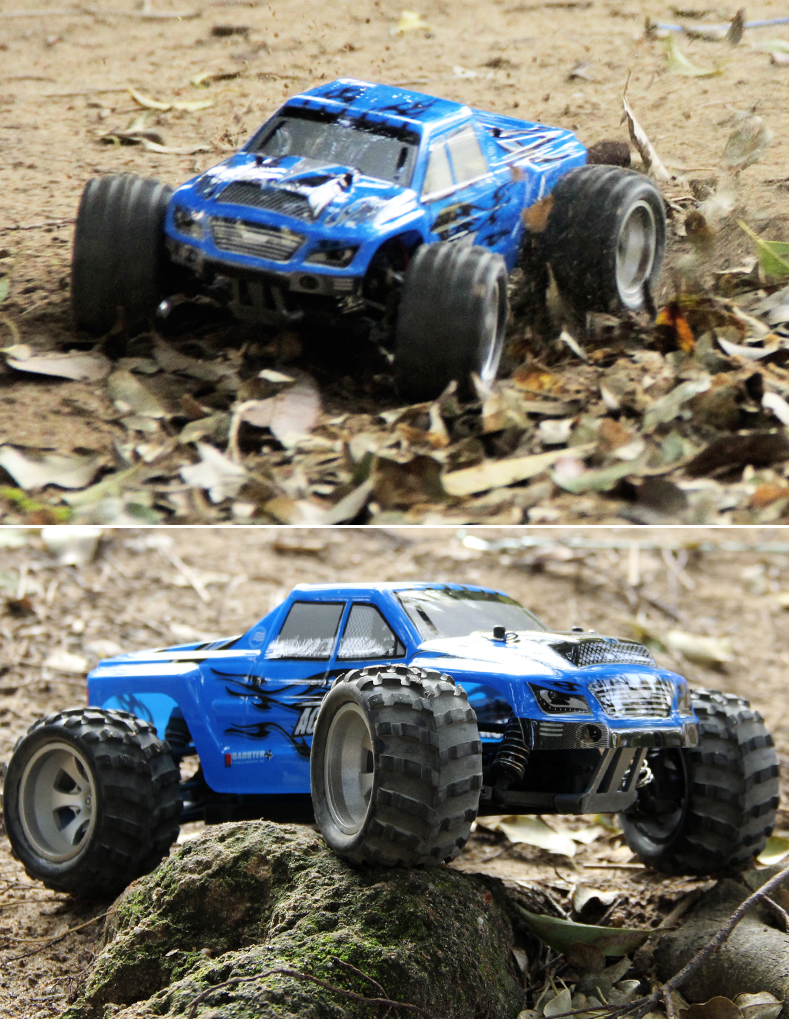 Ewellsold 50km/h WL A979 High Speed Off Road Remote Control Car Electric Racing Car Models Stunt Car 1:18 Scale Rc Car 4wd