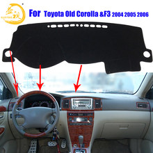 Easysee Dashboard Cover Pad Dashmat Dash Mat Sun Shade Dash Board Cover Carpet For TOYOTA Old COROLLA&F3 2004 2005 2006(China)