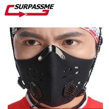 Угольный фильтр, маска для лица, мотоциклетная, защита от пыли, ветрозащитная, дышащая, маска для лица, для спорта на открытом воздухе, для гонок, велосипеда, для мотокросса, для верховой езды