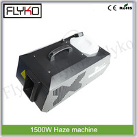 Save oil smoke machine Haze machine 1500W variours light beam fog equipment with fever the heart and direct heating technique