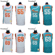 Flint Tropics  55 MASMIG Vakidis  69 VTURE Downtown White Semi Pro Team  Throwback Movie Basketball Jersey Stitched S-4XL 37c19d2b3