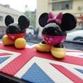 4 Cor da Imagem Dos Desenhos Animados Mickey Assento Perfume Carro Ambientador de Carro aromatizador de Sabor No Carro Novo Auto Purificador De Ar Fresco Carro Perfume