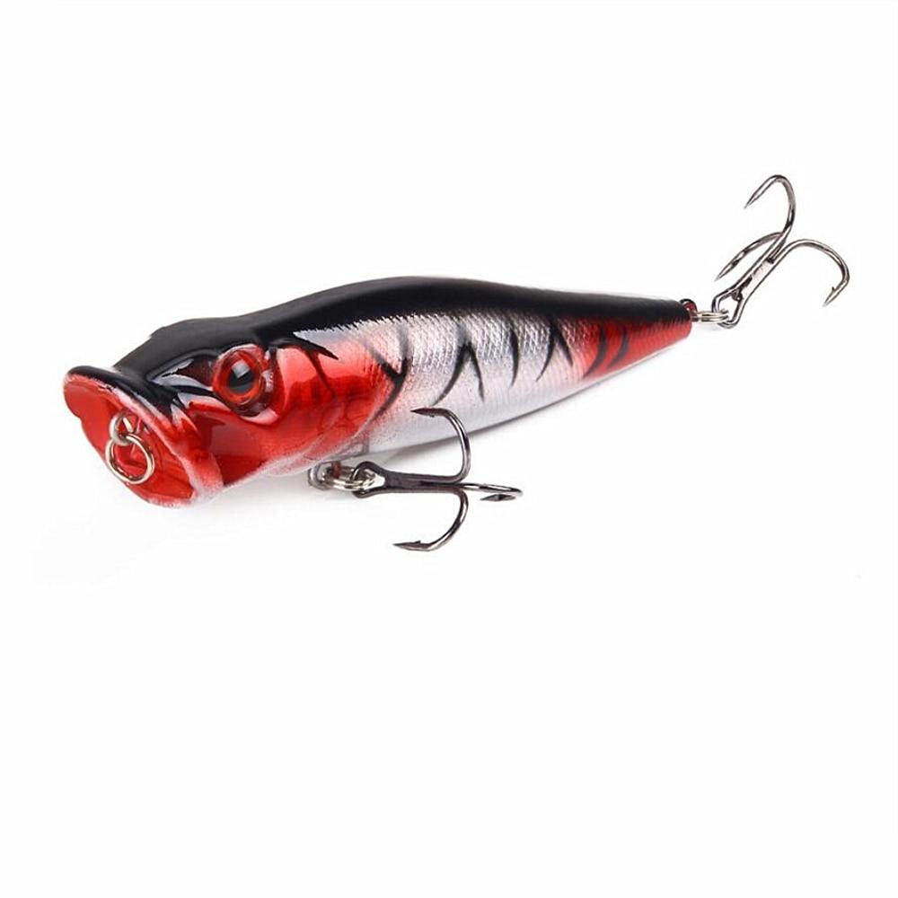 1tk / partii 9cm 13g Kvaliteetne Topwater Popperi kalapüük Lure - Kalapüük