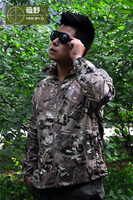 military tactical jacket for men seal skin clothing sunscreen ultra-thin breathable waterproof outdoor speed drying UV CP