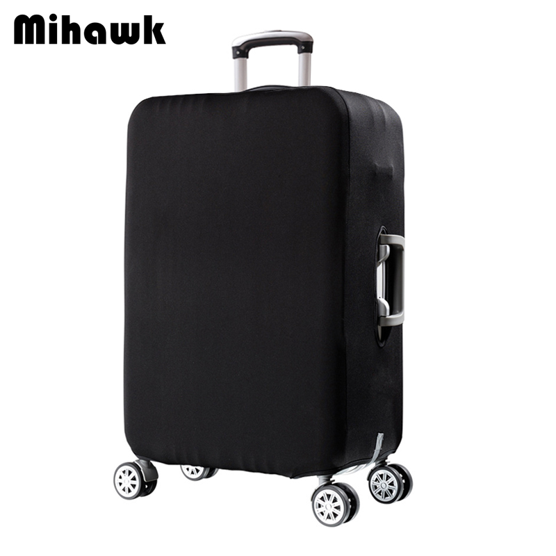 Mihawk Luggage Protective Cover For 18 to 30 inch Trolley suitcase Elastic Dust Bags Case Travel Accessories Supplies Gear Item