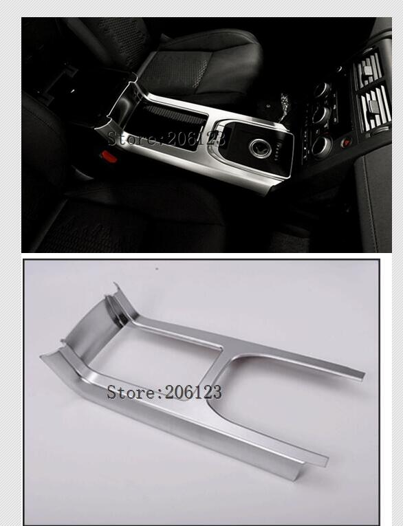 Car Central Console Gear Shift Panel Frame Trim Styling Cover For Land Rover Discovery Sport 2015 2016 Accessories yaquicka car central console gear shift panel frame trim styling cover for land rover discovery sport 2015 2016 accessories