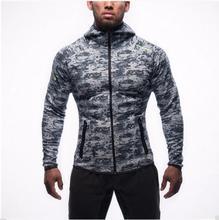 2016 Camouflage herren Pullover Sweatshirts Muscle Sportswear Trainingsanzüge Bodybuilding und Fitness Hoodies Hombre