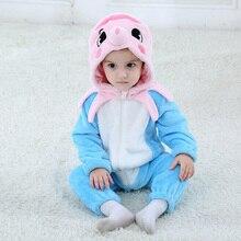 Baby Octopus Kigurumi Pajamas Clothing Newborn Infant Romper Animal Onesie Cosplay Costume Outfit Hooded Jumpsuit Winter Suit