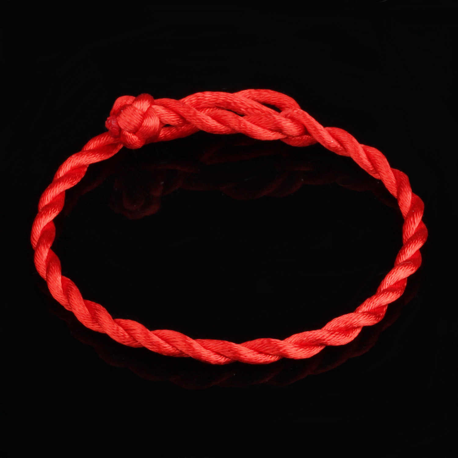 Simple Red Rope Bracelets & Bangles For Women man Children Fashion unisex Jewelry Gift width 4mm/2mm length 20cm