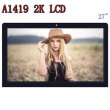 $270 Класс C, A1419 2 K ЖК-дисплей Экран со стеклянными сборки LM270WQ1 SD F1 SDF2 Для iMac 27 «поздно 2012 2013 MD095/096 ME088/089