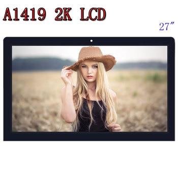 """Venda quente original a1419 2 k tela lcd com montagem de vidro lm270wq1 sd f1 sdf2 para imac 27 """"final 2012 2013 md095/096 me088/089"""