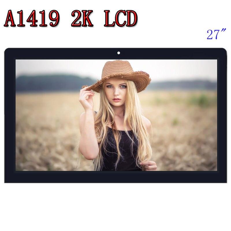 Vendita calda Orignal nuovo A1419 2 K Schermo LCD con assemblea di vetro LM270WQ1 SD F1 SDF2 Per iMac 27