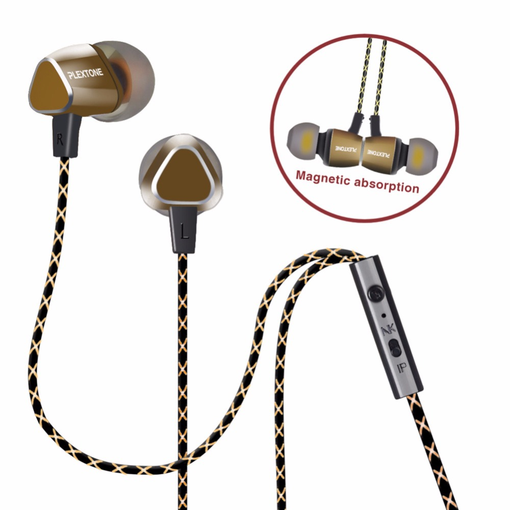 Earphones Magnetic Easy Carrying In-ear Earbuds Sport fone Earpieces With Mic Mini for Xiaomi etc. Smartphone MP3 MP4 Laptop PC 3 5mm in ear earphones with mic