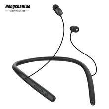 sports Earphone Wireless Bluetooth Headphones Neck Halter StyleHands-free Calling For iphone 11Pro xiaomi huawei mate30 earbuds