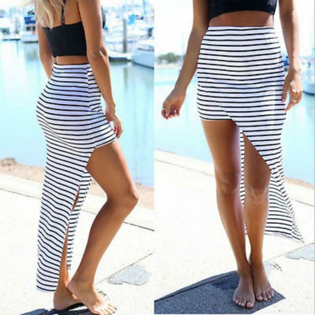 High Waist Boho Skirt