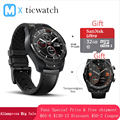 Ticwatch Pro Bluetooth Smart Horloge IP68 Gelaagde Display ondersteuning NFC Betalingen/Google Assistent Dragen OS door Google 415 mAH man horloge
