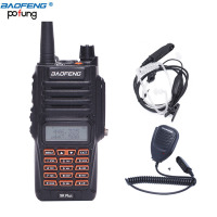 Baofeng UV 9R Plus Walkie Talkie 8W High Power 2800mAh Dual Band IP67 Waterproof BF UV