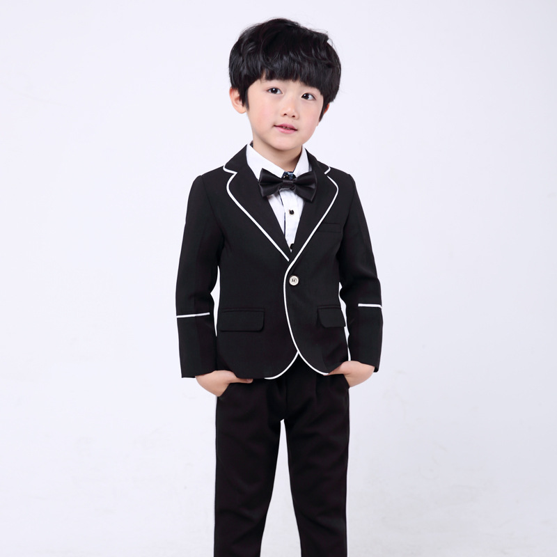 dbda59fd0 Para 3 piezas (chaqueta + chaleco + Pantalones) hombre de negocios Slim Fit  trajes