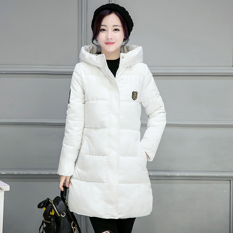 2017 Limited Special Offer Full Standard Zipper Womens Winter Jackets And Coats Winter Cotton Coat Paragraph Slim Female Jacket womens winter jackets and coats promotion special offer 60% zipper cotton solid 2016 female in cotton padded jacket w06005 coat