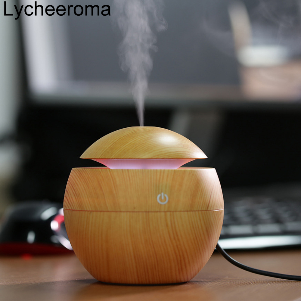 Lycheeroma Mini Portable Essential Oil Diffuser Mist Maker Us