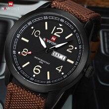NAVIFORCE Men Sport Waterproof Watch Fashion Casual Wristwatch