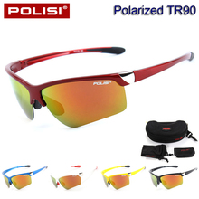 2017 New TR90 Polarized Cycling Eyewear Sunglasses Bike Bicycle Goggles Outdoor Sports Cycling Glasses UV 400 Oculos Ciclismo