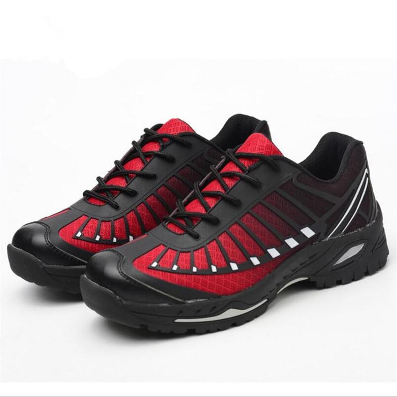 Homens Anti De perfuração Proteção esmagamento 01 Nova Dos 02 Casal Anti Moda Trabalho Seguro Sapatos Segurança Botas Do XqqwPg