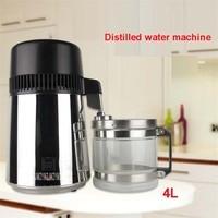 220 V / 110 V, ABZ01 Family 304 Stainless Steel Water Distiller 750W Water Dispenser Water Purifier 1L / H Distillation 400mL