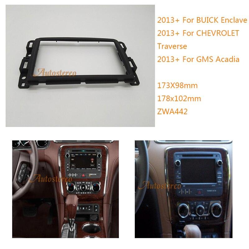 Buick Enclave 2013: Car Radio Fascia For BUICK Enclave 2013 CHEVROLET Traverse