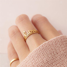 HIYONG Geometric Unisex Custom Stainless Steel Rings Sliver For Lovers Trendy Fashion Party Decoration Jewelry Girls Gifts
