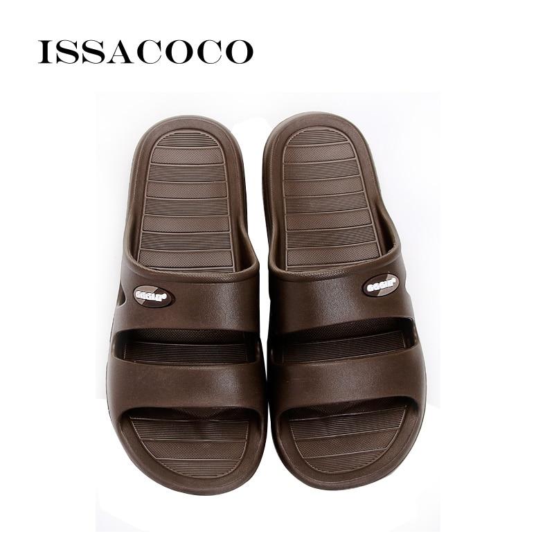 ISSACOCO 2018 Apavi vīriešiem Čības Sandales Vīrieši Vasaras - Vīriešu apavi - Foto 5